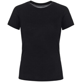 super.natural Base 140 Tee Women jet black